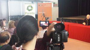 Filmació de les presentacions